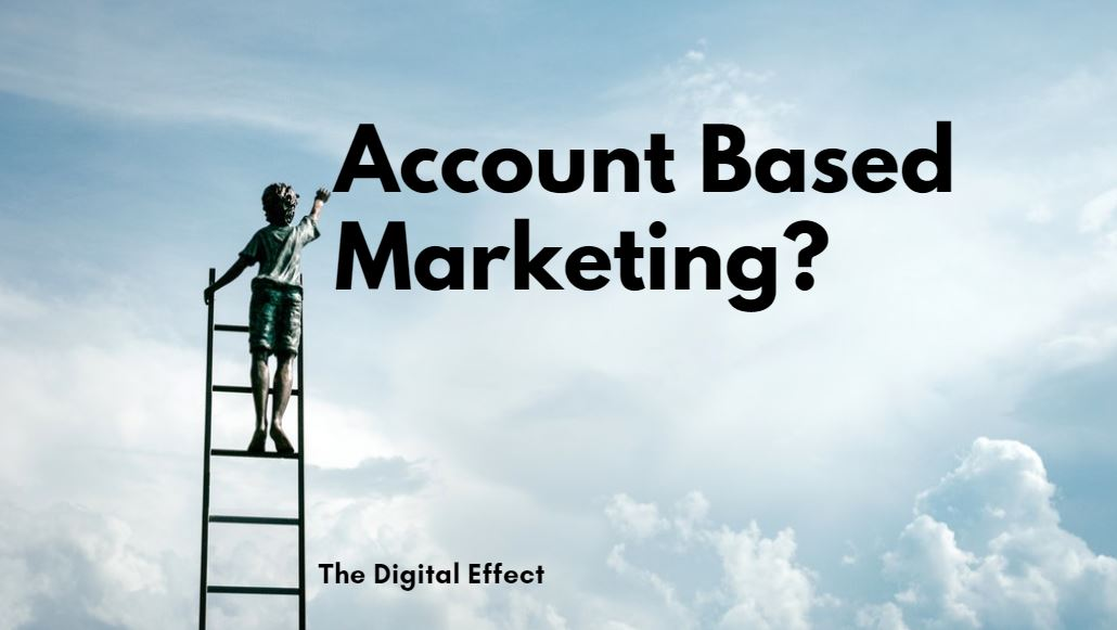 Is there a  more fitting description for Account-Based Marketing?